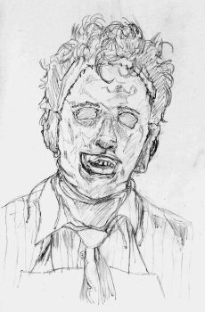 Leatherface croquis by Moldave