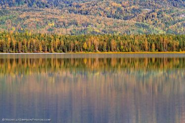Alaskan Autumn Reflections by MSimpsonPhotos