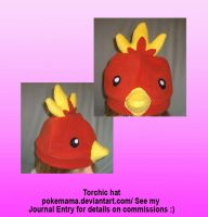 Torchic hat by PokeMama