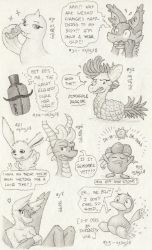 Don't Break the Chain 34 (Drawings #310-#318) by BrownieComicWriter