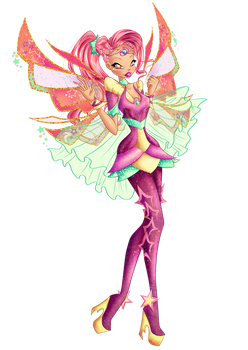 Art Trade w/ Dextons - Ayana's Bloomix by Feeleam