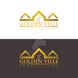 Golden Ville Subdivision Proposed logo by zaido12