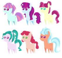 Equestria Girls Pointy Ponies by BerryPunchrules
