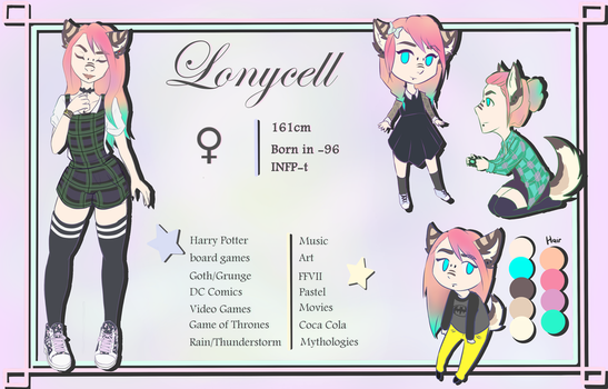 Lonycell charsheet by Lonycell