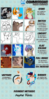 Commission Prices by DetectiveRJ