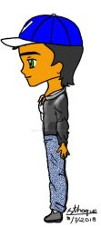 Chibi Vince (CL 2) side view by sthaque