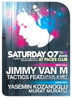 JIMMY VAN M at faces by can