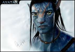 AVATAR jake sully by M-for-moddel