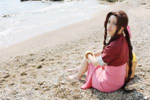 Aerith Gainsborough - Costa Del Sol by Sora-Phantomhive