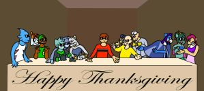 Last Supper But It's Transdimensional by Thepicausno