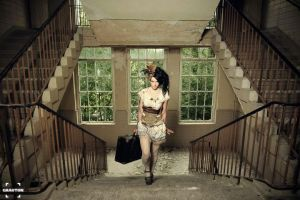 Upstairs...         Steampunk by S-T-A-R-gazer