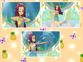 ~SAA~ Ellie Summer Picnic Audition by Luckyshortyboo