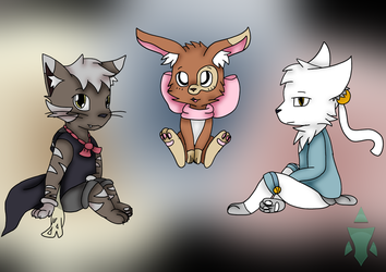 The Cat, the Bunny and the Fox (Contest Entry) by Midnight197