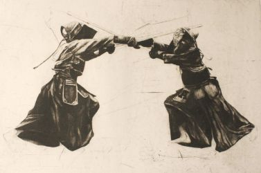 Kendo fighters by pierzyna