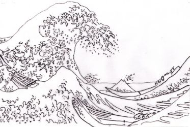 Onda Hokusai-by me by misswalky