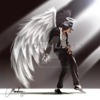 Michael Jackson Art Tribute by hoshun11