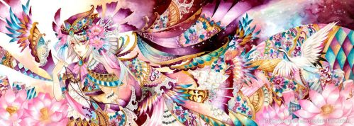 Fabric Market Fantasy by laverinne