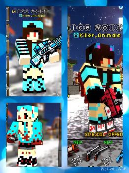 My skins by Pinkwolfly