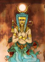 Egypt God by IsaMeeps