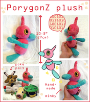PorygonZ Pokedoll plush