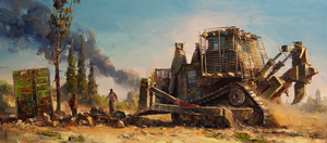 Bulldozer by VityaR83