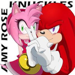 Knux and Amy by Arpy-M