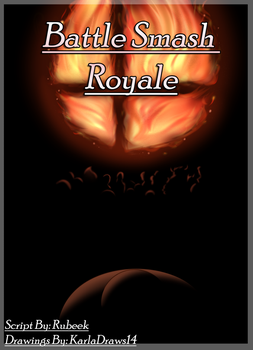 .Battle Smash Royale. - Cover Title by KarlaDraws14