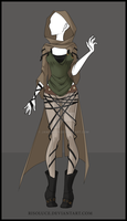 (CLOSED) Adoptable  outfit Auction 7 by JawitReen
