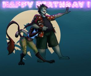 Happy Birthday ! by DartOlos