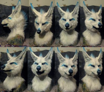 Freakhound mask by Crystumes