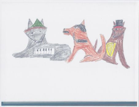 The Marx Wolves Brothers by werecass