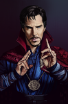Doctor Strange - Fan Art 4 by AndromedaDualitas