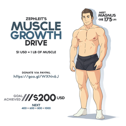 Muscle Growth Drive by zephleit