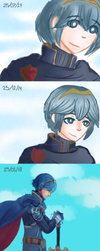 Marth Fire Emblem by LordSirCromwell