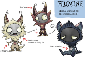 Flumine: Species concept by ThinkingBadger