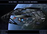 STAR TREK - ICICLE: Leaving Drydock by ulimann644