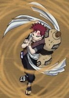 Sabaku no Gaara by SolitaryWolf
