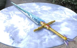 Sailor Moon Sword of Sealing 3D by digitalAuge