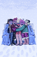 SNOW FOR ALL by metswee