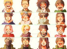 Classic Naruto by fvckfdaname