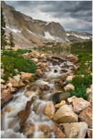 Storm Over Lake Marie by wyorev