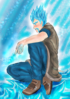 ice wizard :mago de hielo clash royale by FennixArt