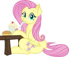 Want a Sip? (Vector) by SilverRainclouds