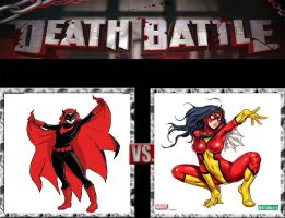 Request #87 Batwoman vs Spider-Woman by LukeAlanBundesen