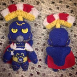 Warhammer - Cato Sicarius Plush by Jack-O-AllTrades
