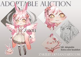 [Close] Adoptable auction by zakili17