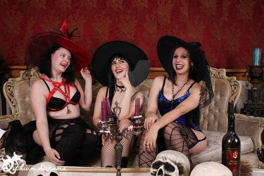 Sexy Witches by SynthetikaCosplay