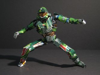 Aluminum Master Chief - Front by fenrysk-art