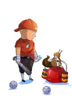 Tf2 Little Scout by biggreenpepper