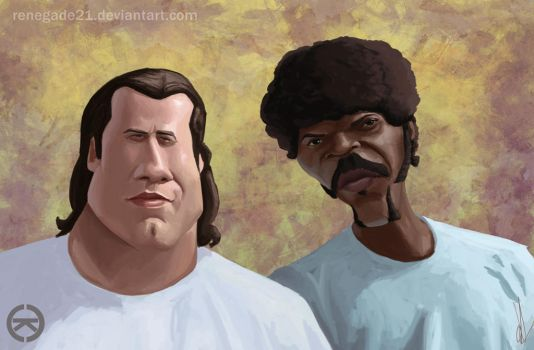Pulp Fiction by renegade21